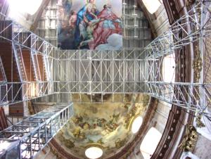 Karlskirche interior, Vienna