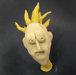 Clay model of boy