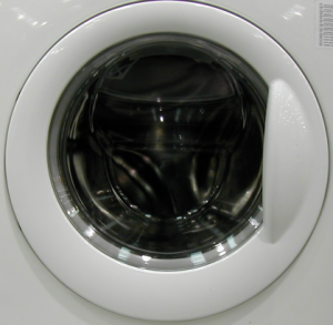 Just the porthole of a washing machine
