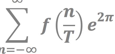 Part of a mathematical formula