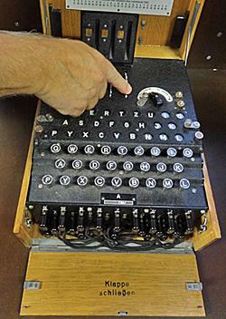 Looks like a typewriter