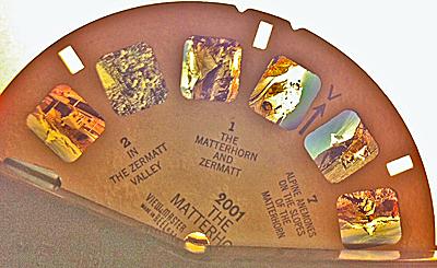 Segment of the circular slide device