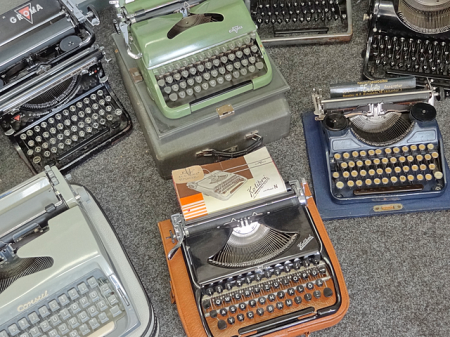 Old Typewriters, Dresden