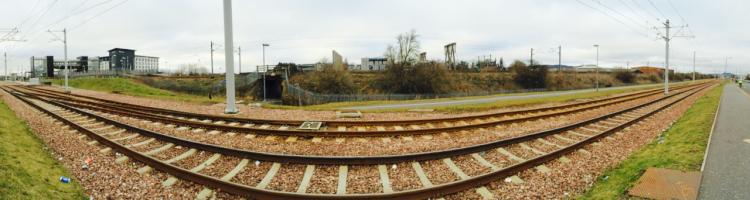 Tram tracks Sight Hill