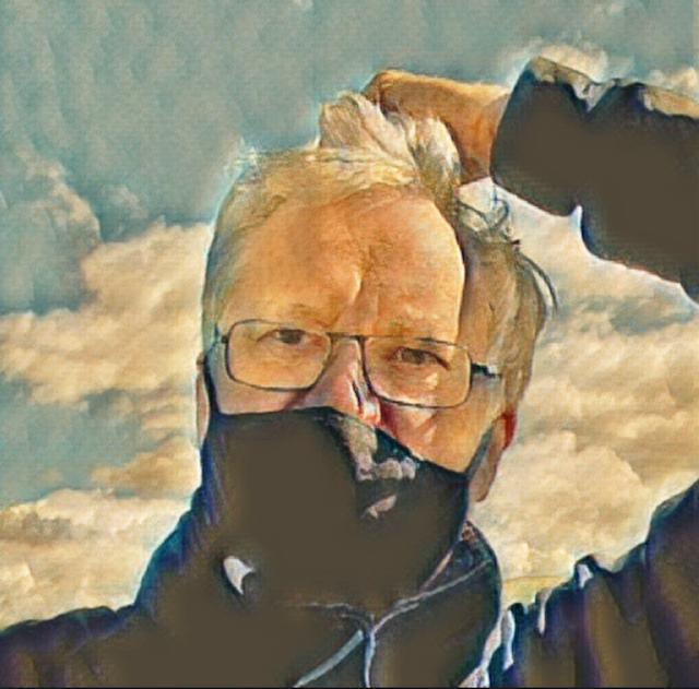 Richard masked wind hair - 1
